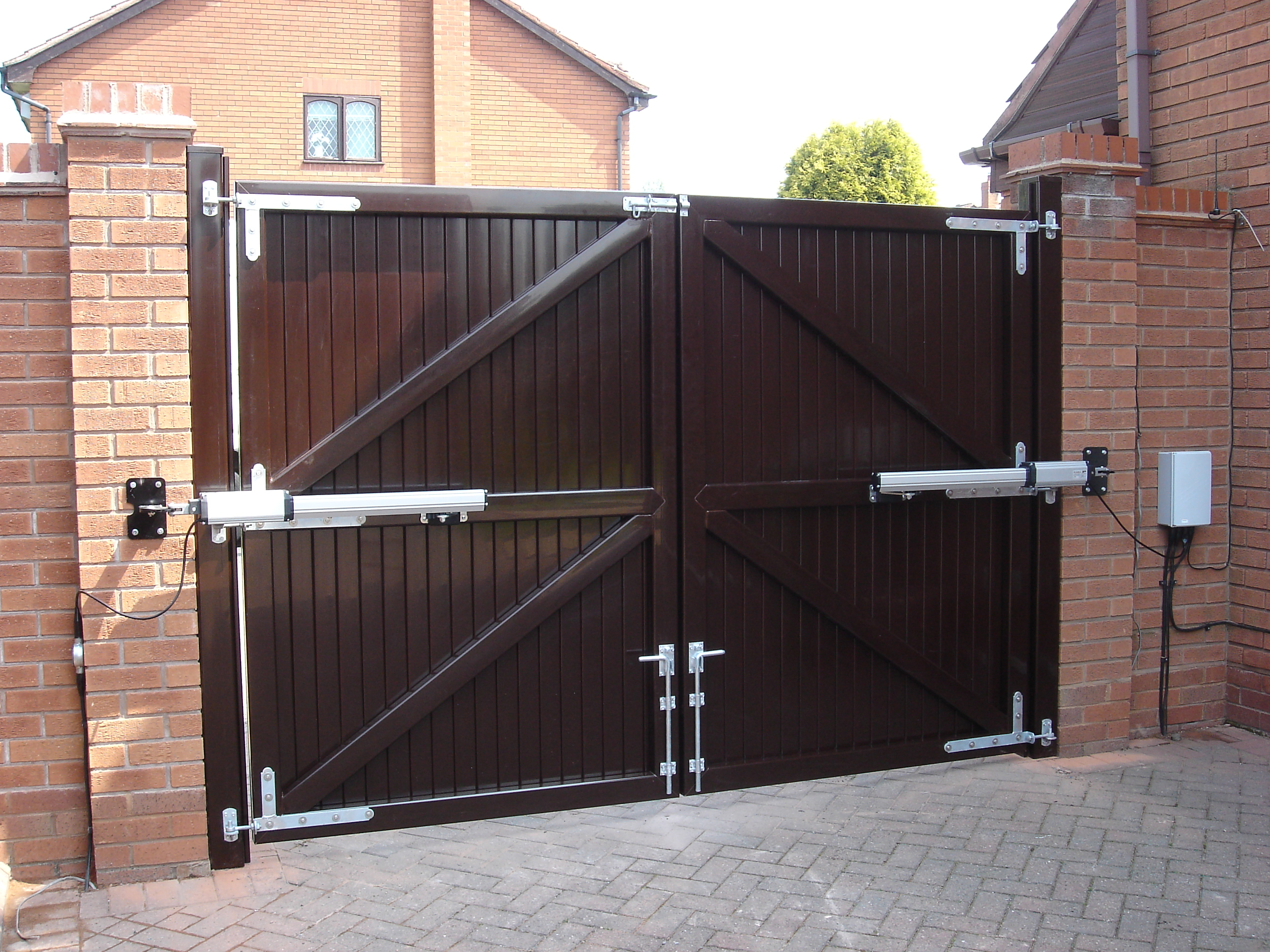 Upvc Gates Uneek International Upvc Decking Ramps And